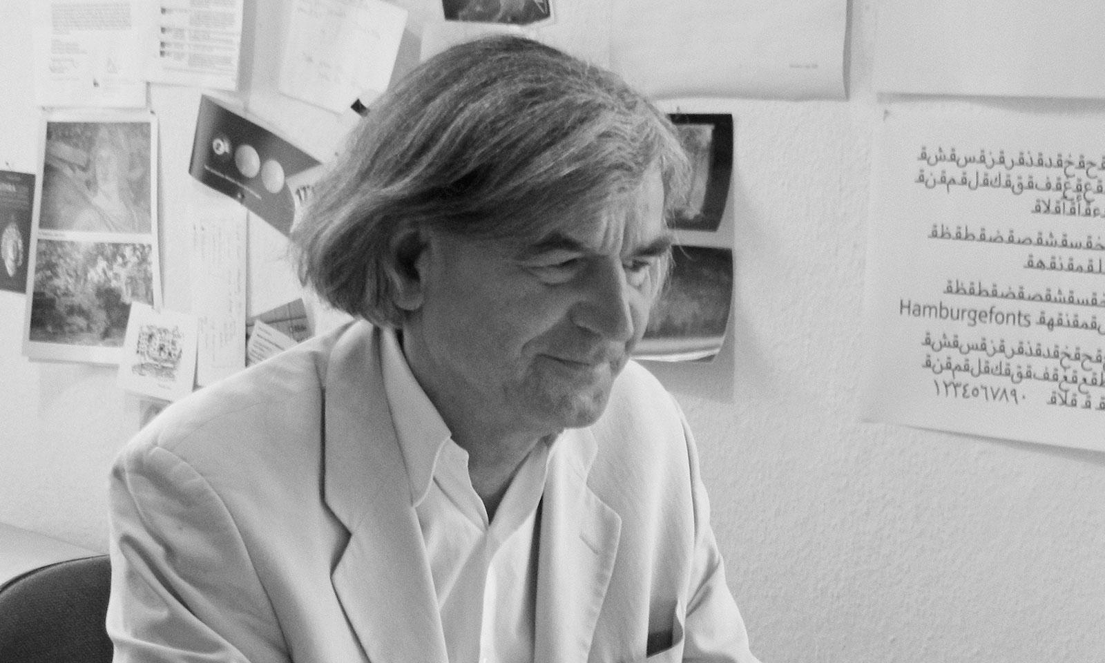Volker Schnebel, type-designer. 100 years Günter Gerhard Lange