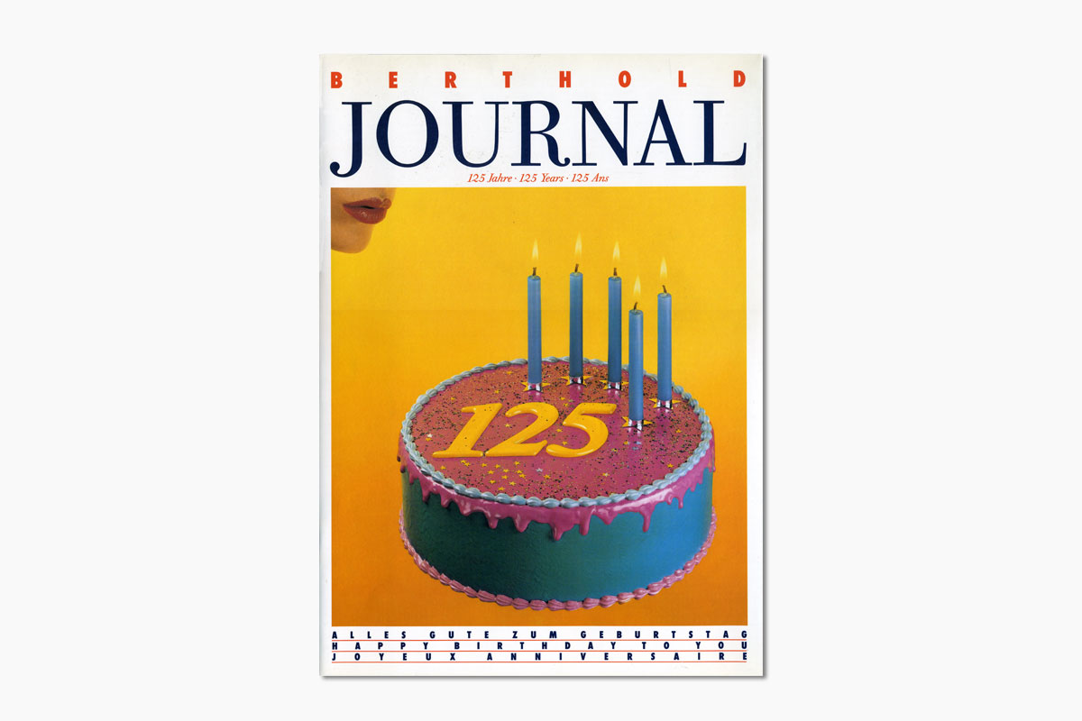 Berthold Journal 125 Years, undated [1983]