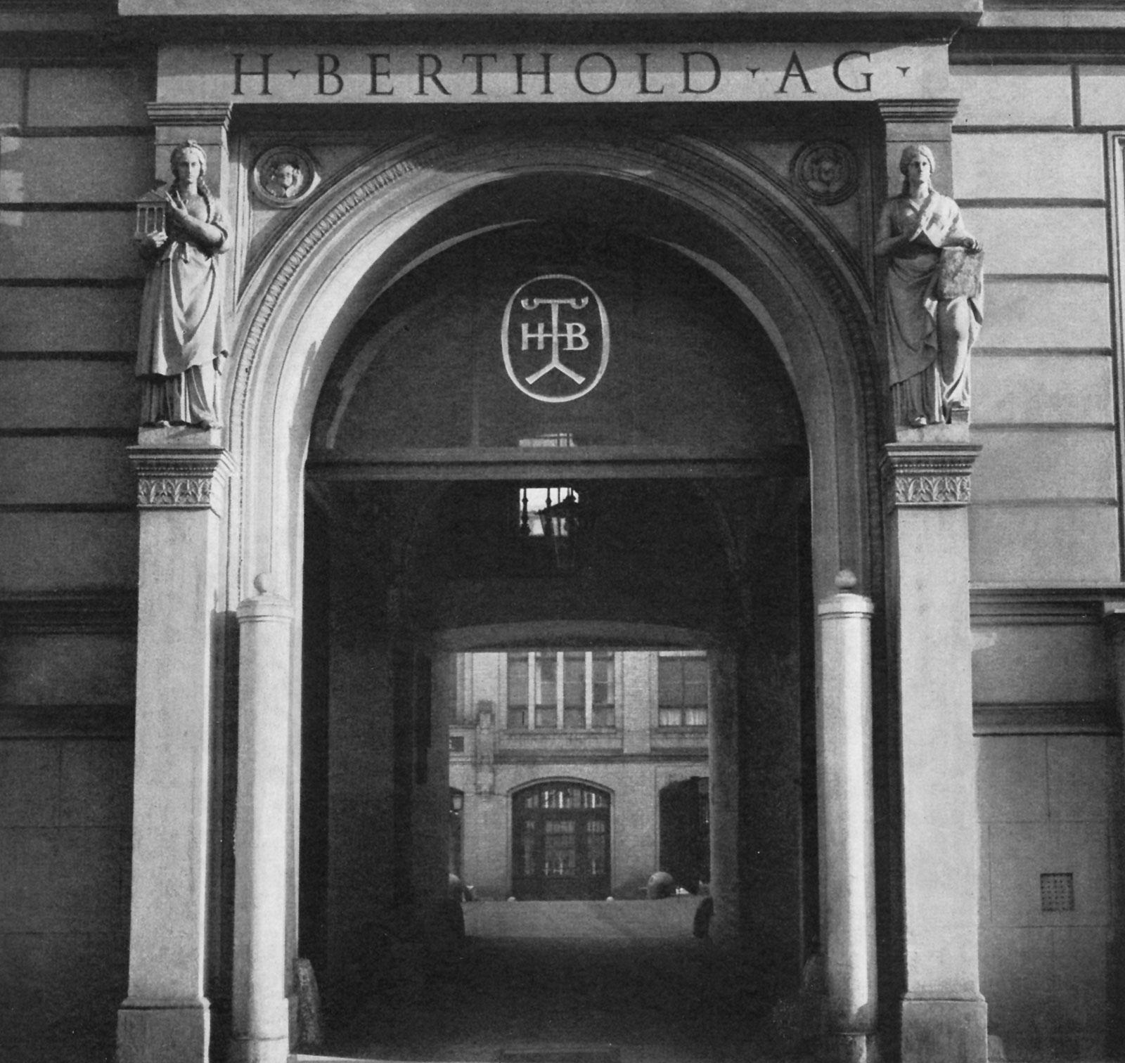 H. Berthold AG Firmeneingang