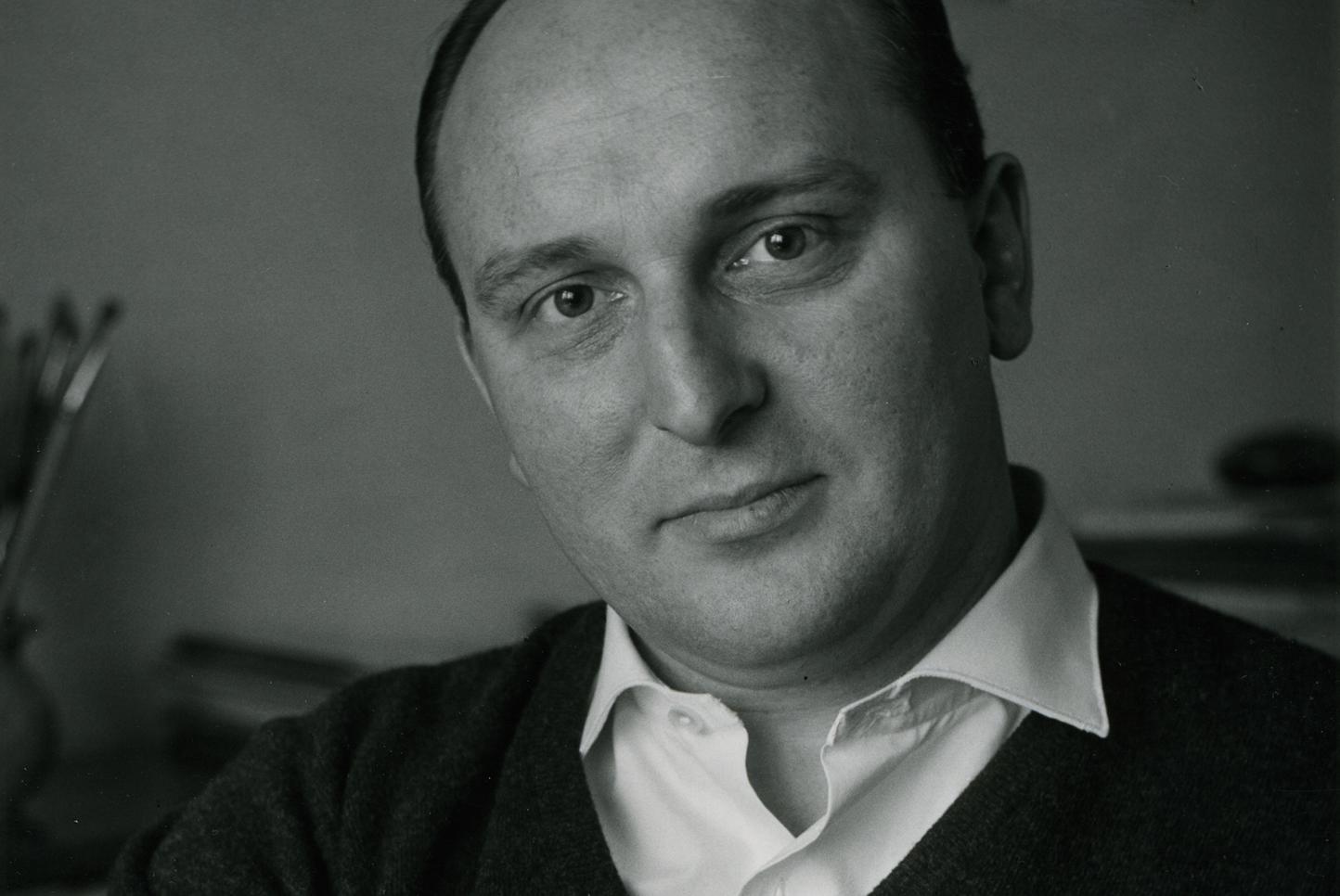 Günter Gerhard Lange in Berlin, 1953